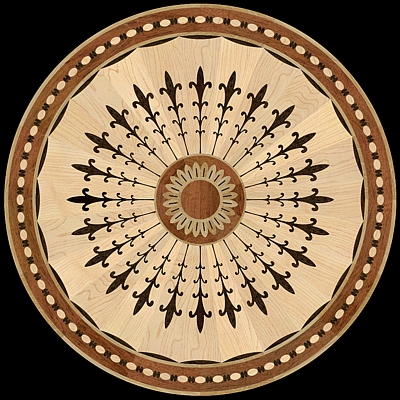 medalion-cu-intarsie-parchet-masiv-model-MQM207-Marquetry-Fan